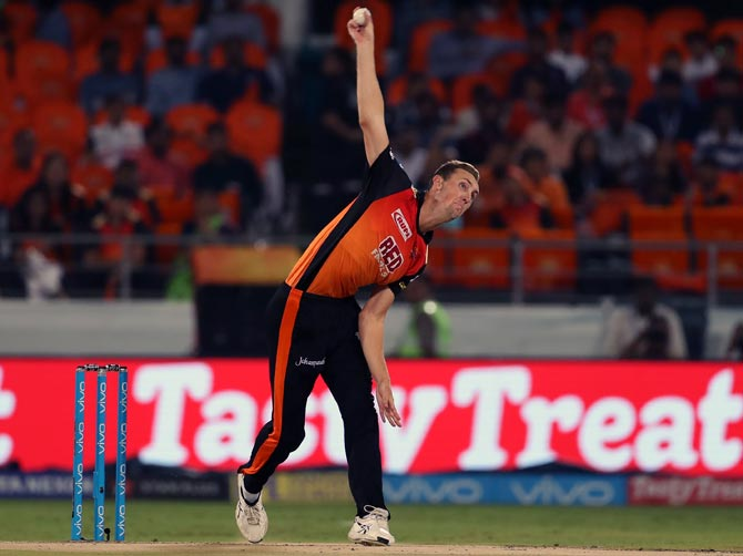 Sunrisers pacer Stanlake ruled out of IPL with injury