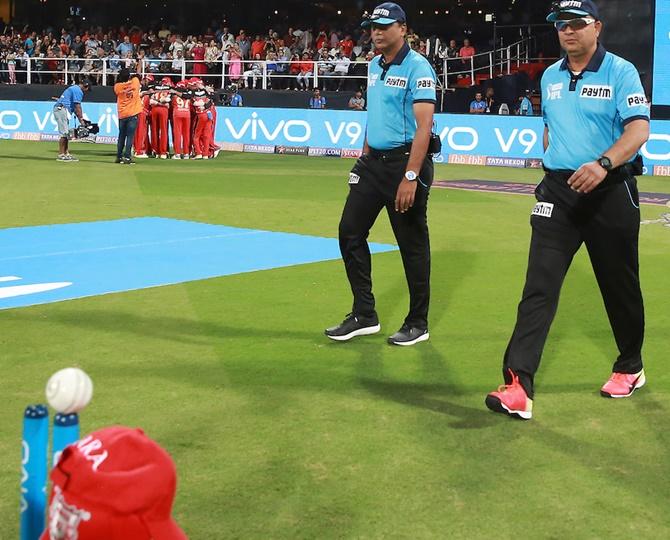 Umpires told to be more vigilant