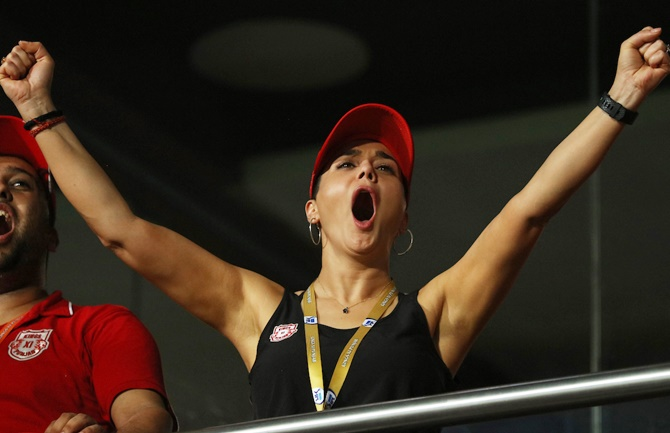 PIX: Preity over the moon as Kings rule supreme...