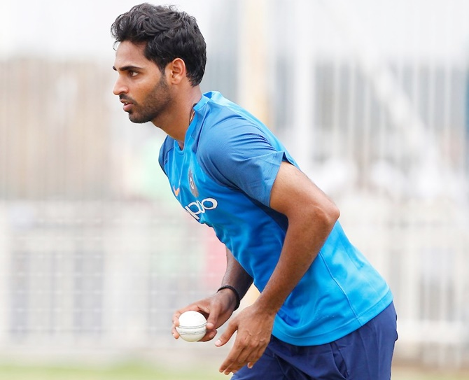 Bhuvneshwar eyes Lord's return for World Cup final