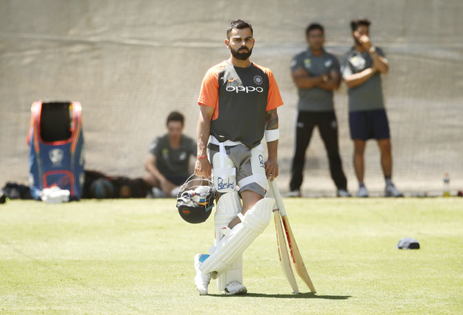 Captain Kohli not weighed down by expectations
