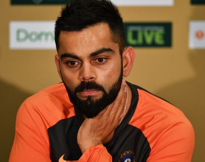 Virat Kohli is not open about what the Playing XI will look like for the first Test against the West Indies
