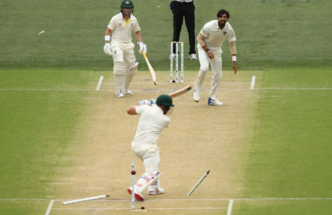 Impatient Aussie batsmen vs patient Indian bowlers