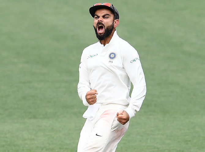 When Kohli's on-field antics angered Langer