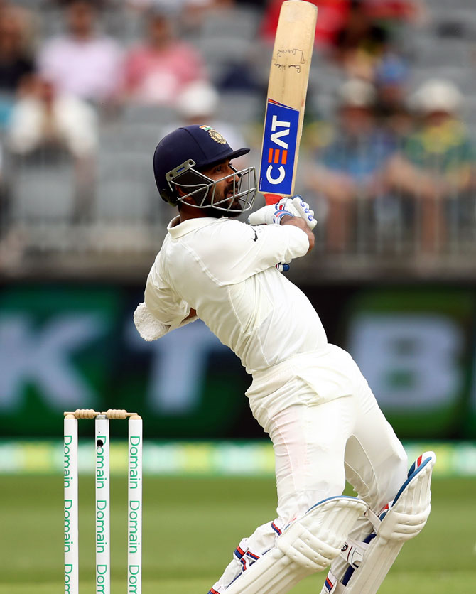 Ajinkya Rahane's counter-attacking half-century rallied India after early wickets in the first innings