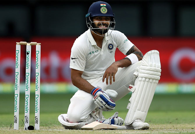 Team India unhappy with umpire's call on Kohli's dismissal