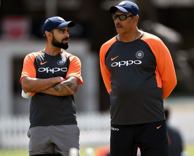 Virat Kohli is caring of his team-mates and is a fantastic role-model, says Shastri