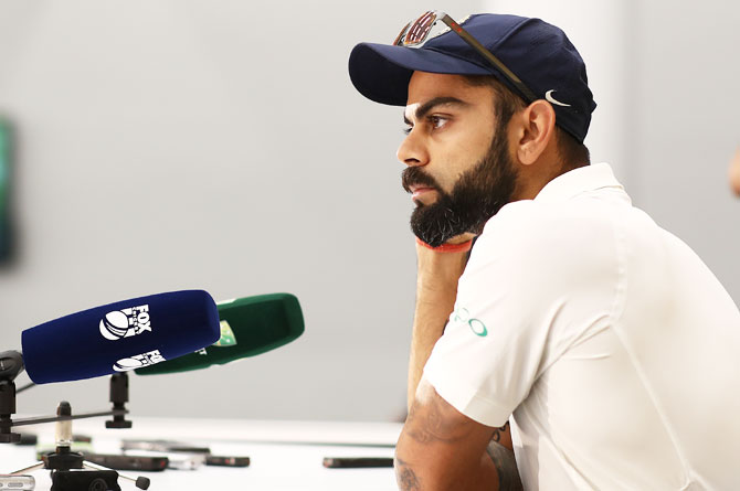 Kohli on what India got wrong in the Perth Test