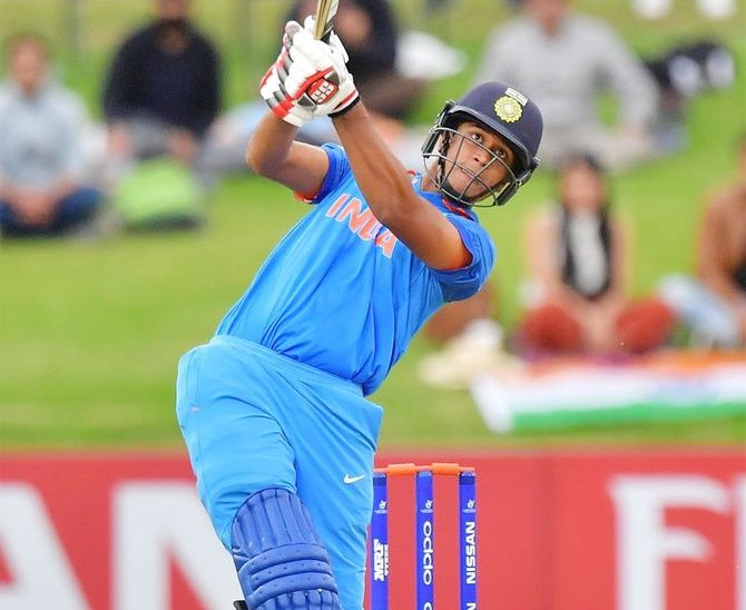 Manjot Kalra was part of the Indian team that won the ICC Under-19 World Cup in 2018
