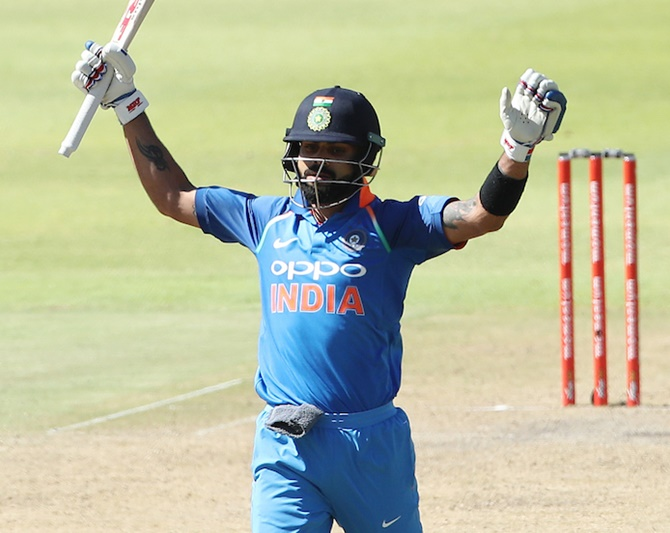 How Twitter reacted to Kohli's 34th ODI ton
