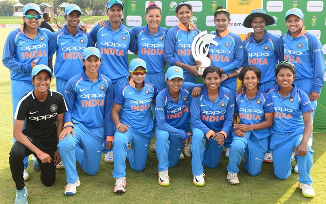 The Indian women's cricket will look to put on another dominant show when they face Pakistan in the 2nd group match on Sunday