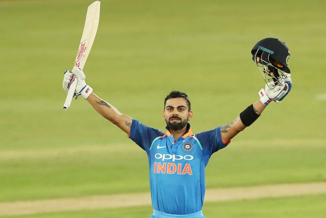 PHOTOS: Kohli, Thakur destroy SA in final ODI