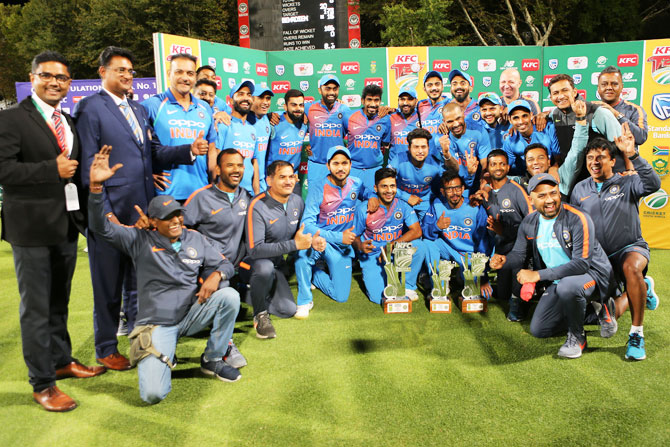 PHOTOS: India beat SA in thriller to clinch T20I series 2-1