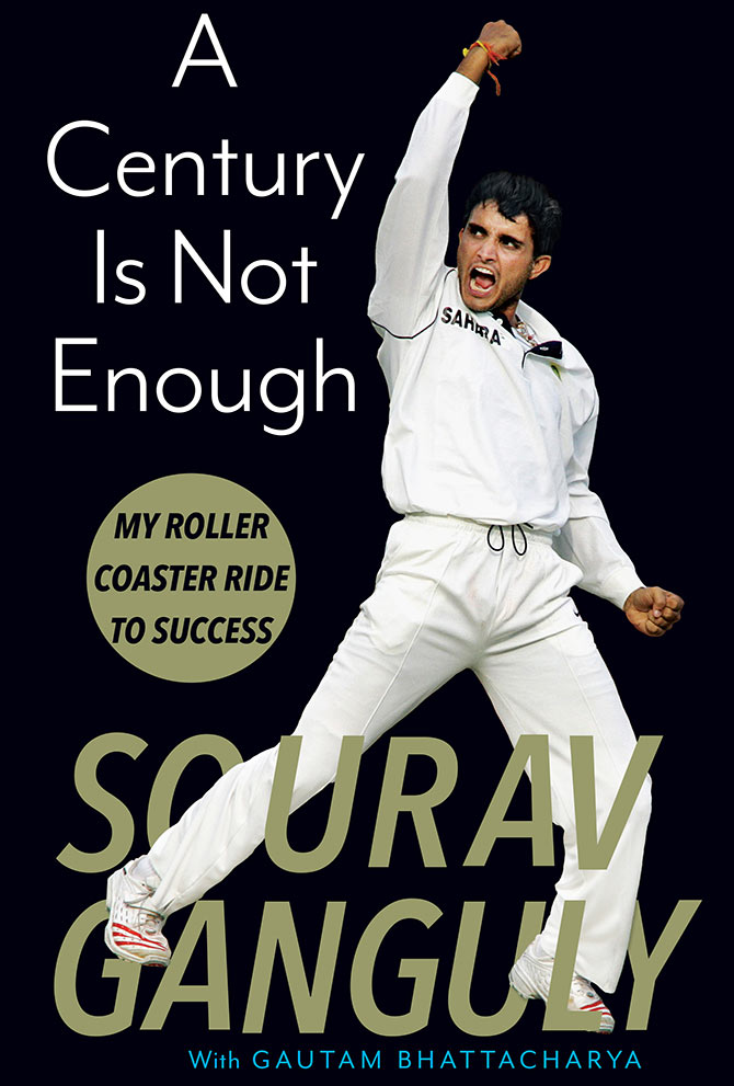 Sourav Ganguly's book cover