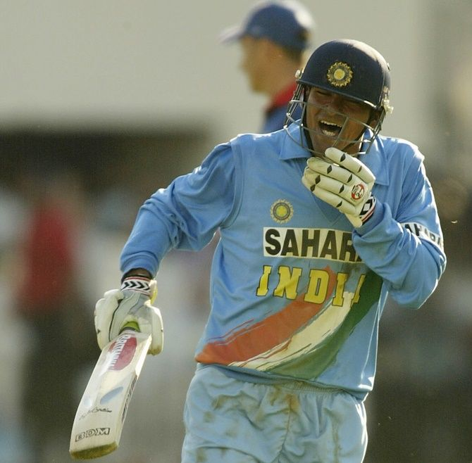 Mohammad Kaif played a match-winning knock in the NatWest Trophy final in 2002