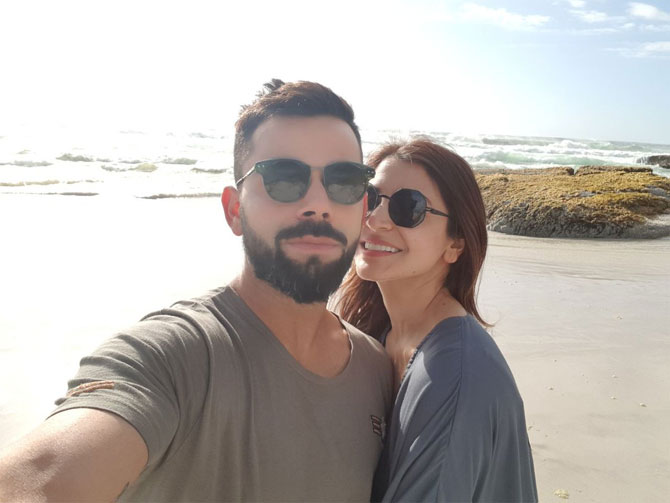 Virat Kohli can't get enough of Cape Town and Anushka Sharma!