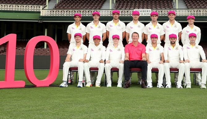 McGrath targets $ 1.3 million collection in the 'Pink Test'