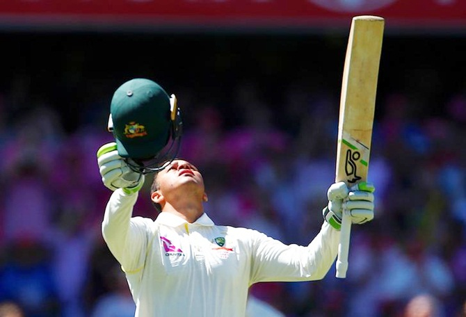PHOTOS: Khawaja's solid 171 puts Australia in command