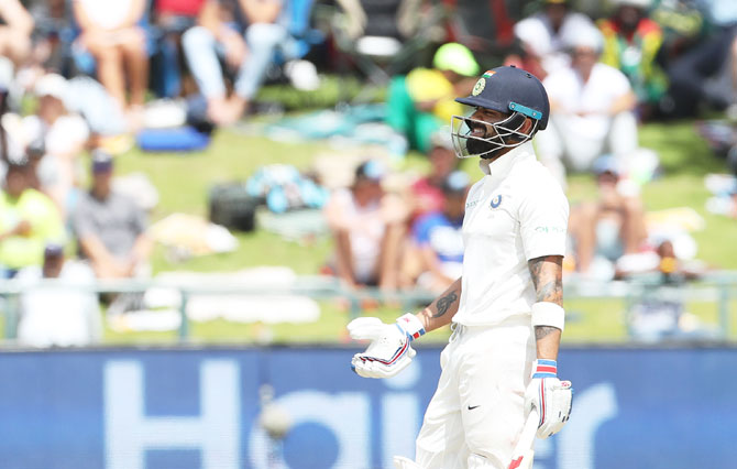 Kohli urges Indian batsmen to be more positive