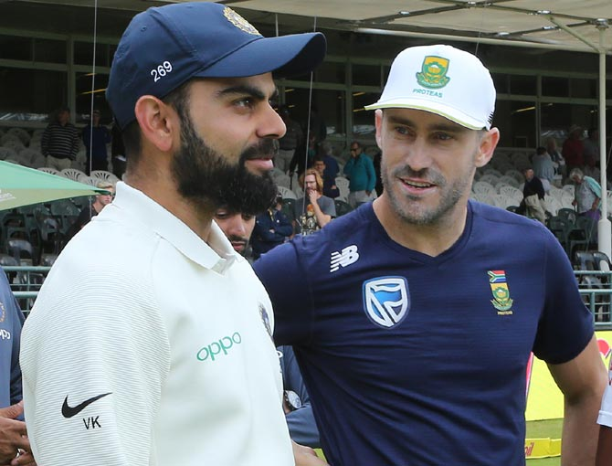India, SA cricket teams donate to Cape Town water crisis