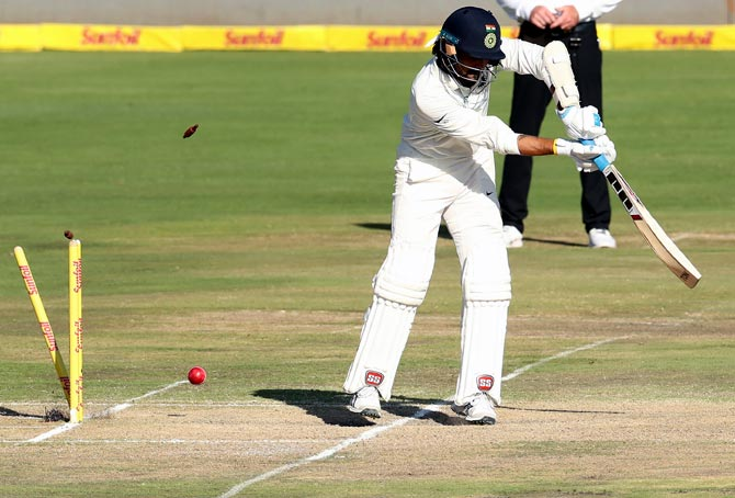 Openers, Kohli fail as India stare at a series defeat