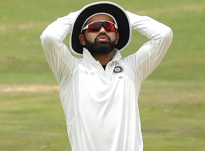 Kohli slams batsmen after flop show in second Test