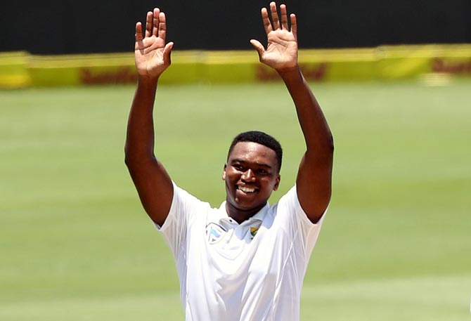 South Africa pick Ngidi for India ODIs