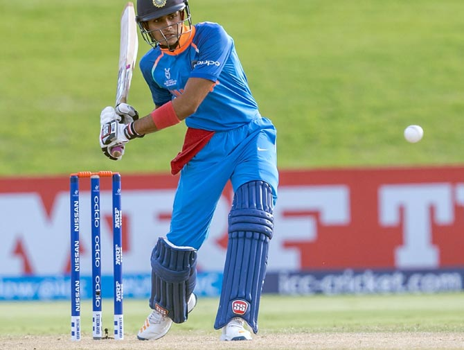 Shubman Gill built his innings well in the Deodhar Trophy match on Thursday. 'It is also about belief. That belief comes from practice and when you replicate that in a match, you get more confident about your game'