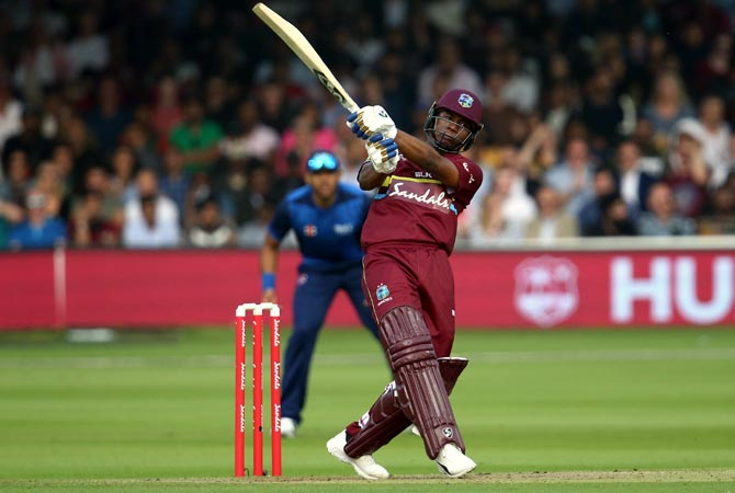 West Indies opener Evin Lewis plays for Mumbai Indians in the IPL and his experience of playing in India would have come in handy