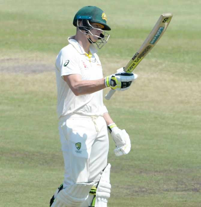 PHOTOS, SA v Aus, 1st Test, Day 1: Smith, Warner make 50s