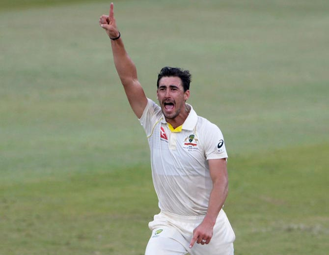 PHOTOS: Starc destroys SA as Australia close in on win