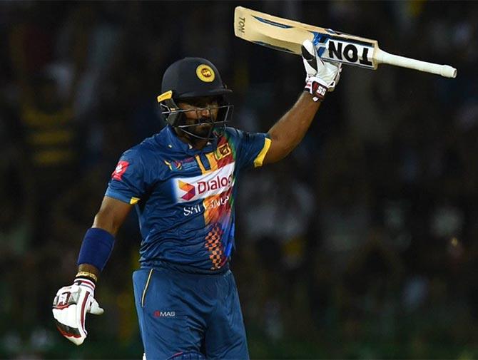 PHOTOS: Perera's blast powers Sri Lanka to victory vs India