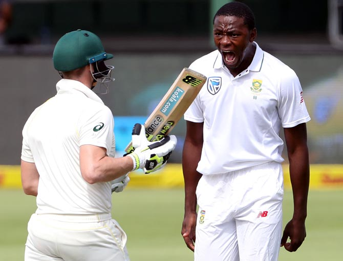 Rabada suspended for rest of Australia series