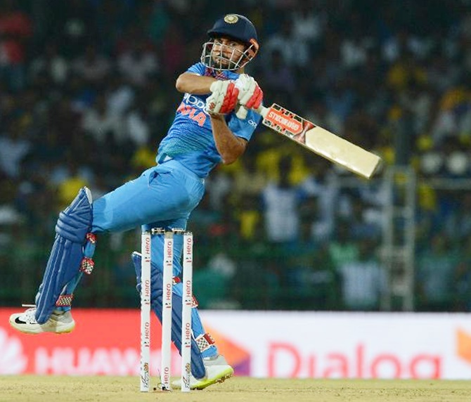PHOTOS: Pandey, Thakur lift India to victory against SL