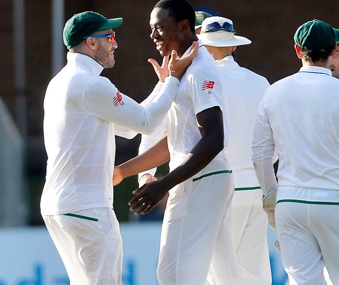 PHOTOS: Rabada fires South Africa to victory
