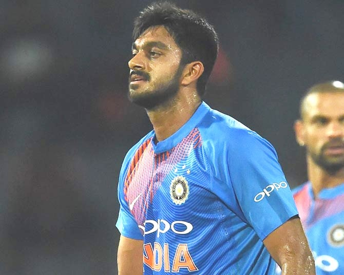 Vijay Shankar had his moments but was inconsistent in the ODI series against Australai