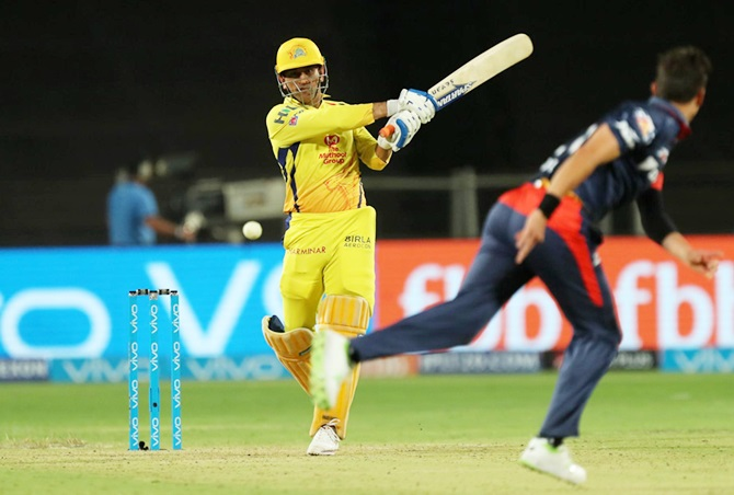 'Dhoni can hit any ball to wherever he wants to'