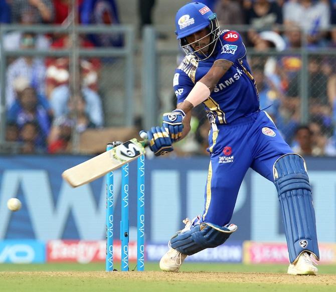 Hardik Pandya has stopped practicing batting