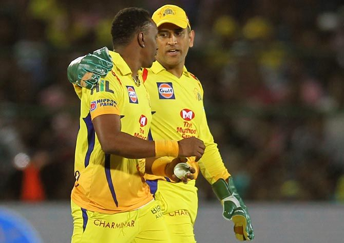 Dwayne Bravo has dedicated a new music video to teammate and Chennai Super Kings captain Mahendra Singh Dhoni