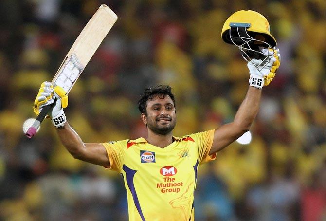 PHOTOS: Rayudu hits maiden IPL ton as Super Kings beat Sunrisers