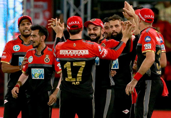 IPL PHOTOS: Umesh fires RCB to 10-wicket win against Punjab