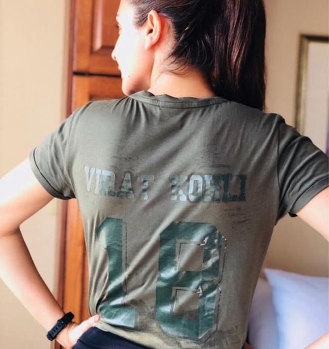 PIX: Virat Kohli finds his cheerleader in wife Anushka