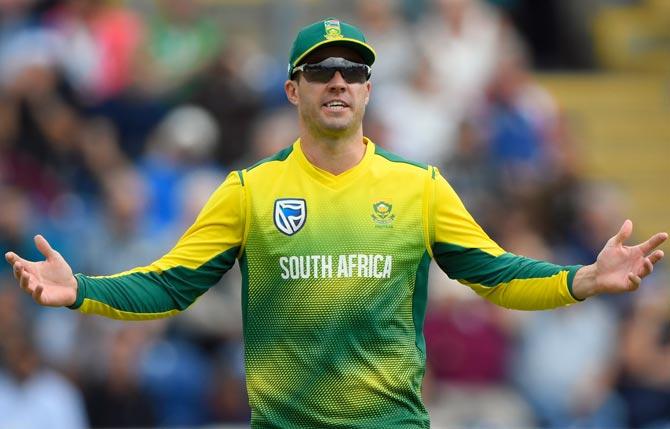 Date set for AB de Villiers international return?