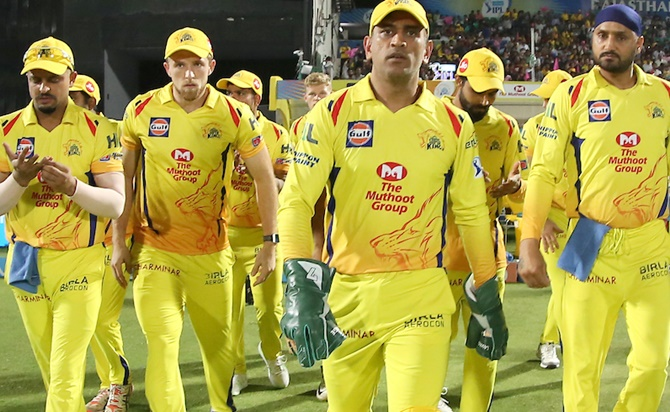 CSK's 'retirement home' show old is gold in IPL