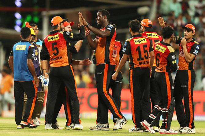 IPL PHOTOS: All-round Rashid guides Sunrisers Hyderabad into final
