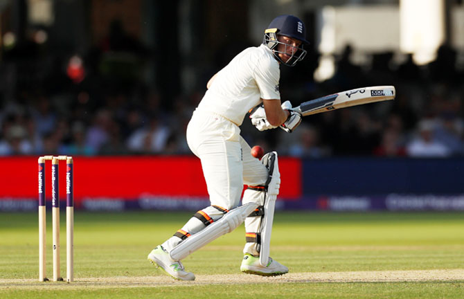 England's Jos Buttler in action