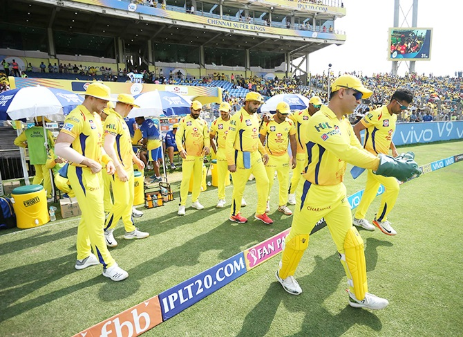 Mahendra Singh Dhoni will lead Chennai Super Kings out in their seventh IPL final in nine attempts.