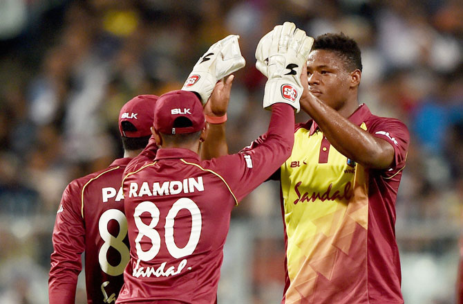 Oshane Thomas is a bowler with raw pace and is a rising talent in the West Indies squad