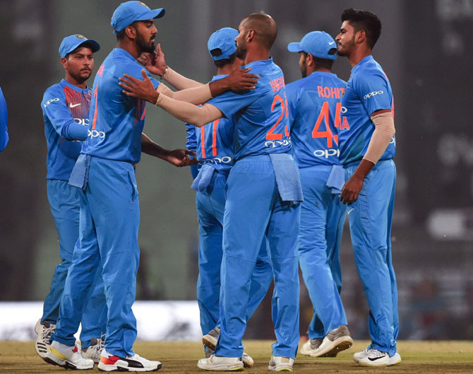 Rediff Cricket - Indian cricket - 3rd T20I: India to test reserves as they aim clean sweep vs Windies