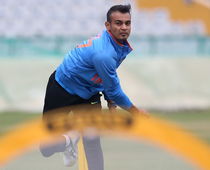 Rediff Cricket - Indian cricket - Kaul helps India A complete 3-0 rout of New Zealand A